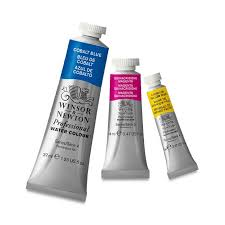 Winsor & Newton Professional Watercolor Paint Tubes